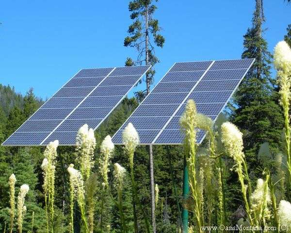 solar back up power systems from Oasis Montana